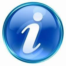 znak graficzny - litera i w kółku jako symbol informacji