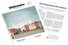"""Okładka miesięcznika """"Biblioteka Publiczna"""""""