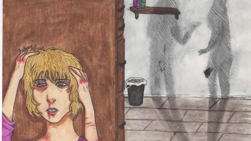 Zdjęcie przedstawia rysunek Nadii Komar.