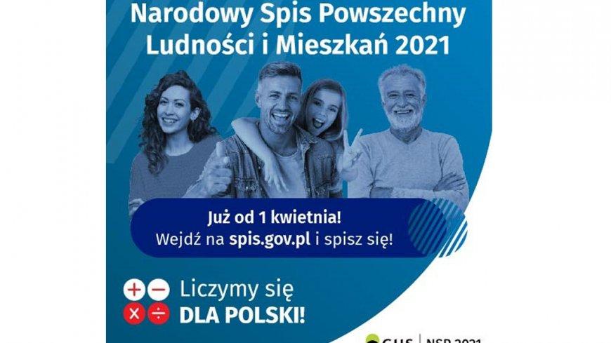 Grafika Narodowego Spisu Powszechnego Ludności i Mieszkań.